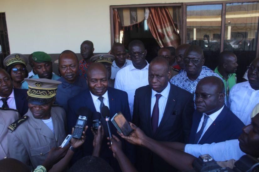 visite-detat-les-ministres-sidiki-diakite-et-ally-coulibaly-satisfaits-des-preparatifs