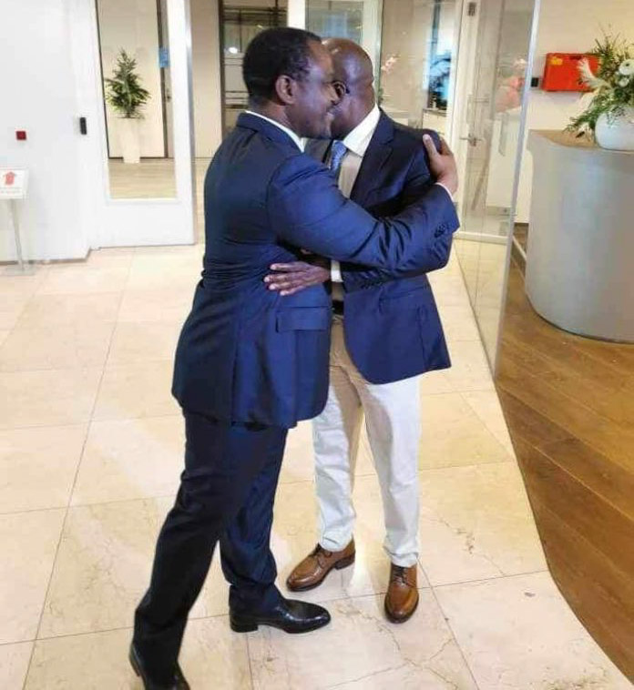 Soro,Blé Goudé,Guillaume Soro,Charles Blé Goudé,rencontre Soro - Blé Goudé,La Haye,réconciliation,Côte d'Ivoire