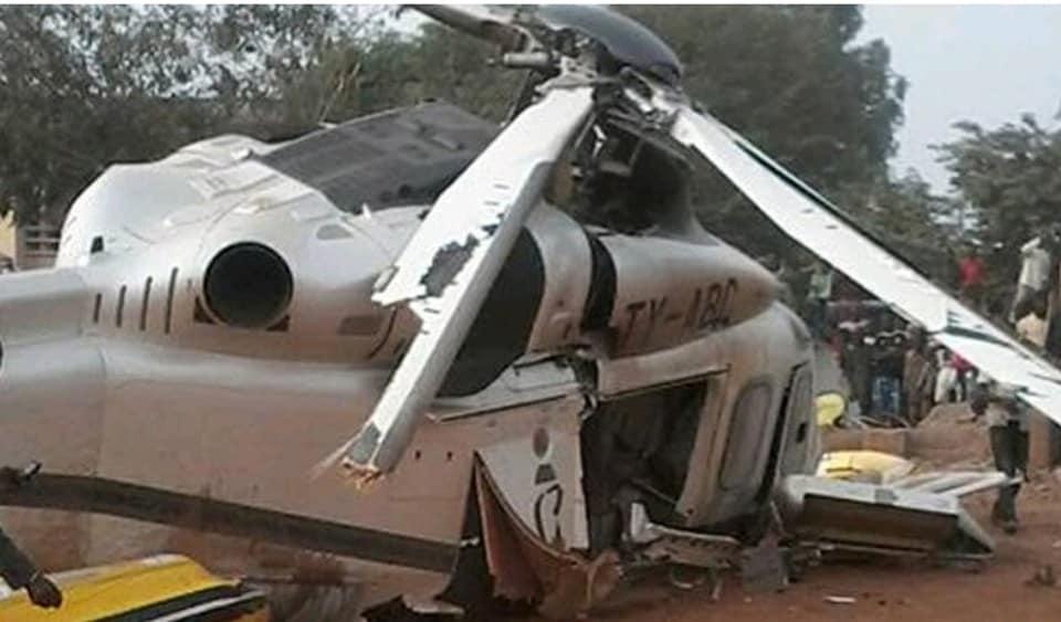 Visite d'État,Président de la République,Alassane Ouattara,hélicoptères,collision