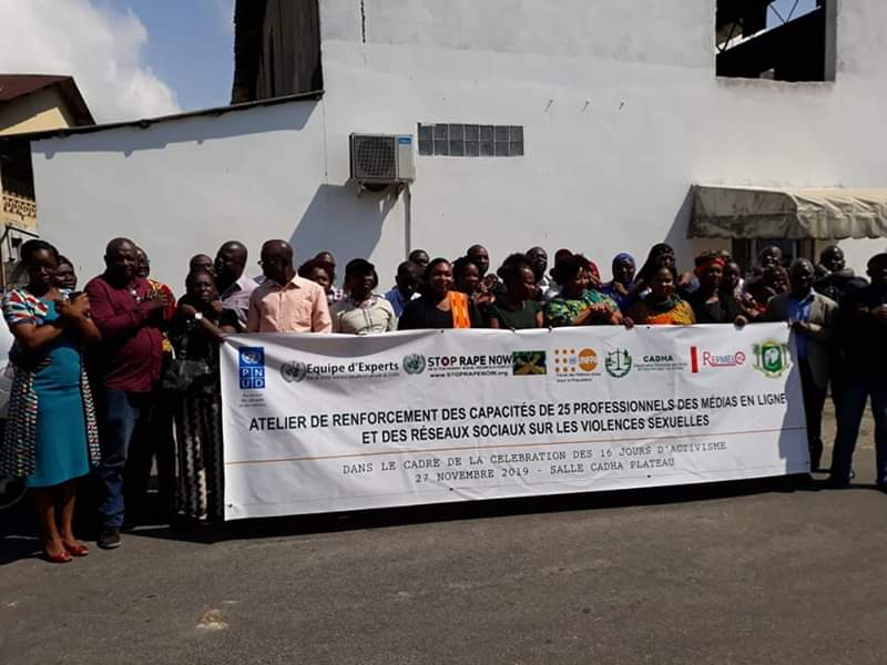 Violences basées sur le genre,Ministère de la femme, de la famille et de l'enfant,  journalistes,