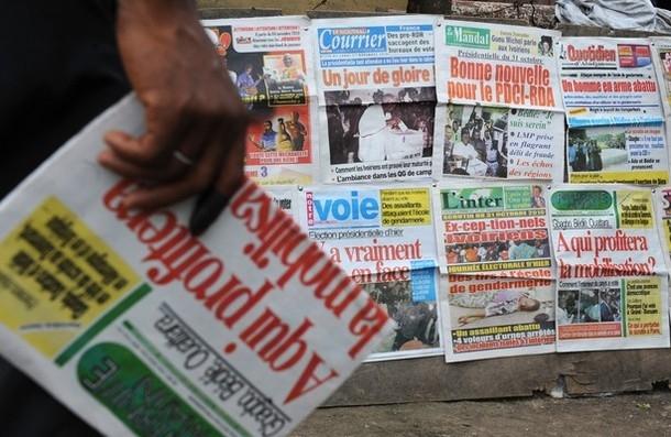 Revue de presse,  Alassane Ouattara,  Simone Gbagbo,  journaux ivoiriens