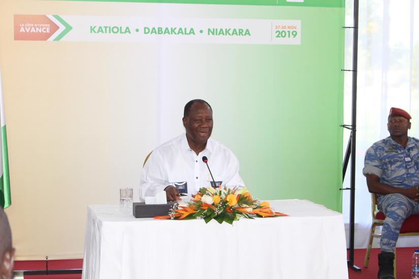 BHCI,Alassane Ouattara