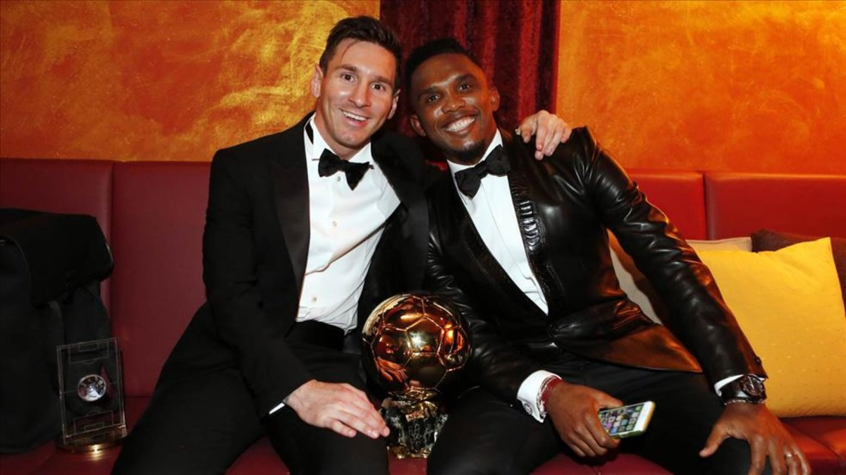 Football,Messi,Samuel Eto'o