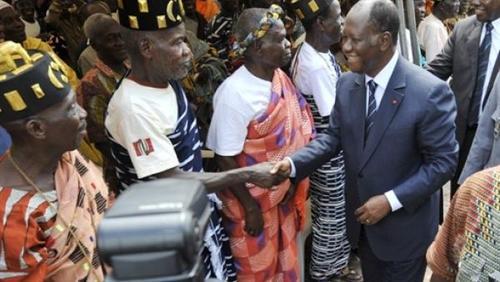 Rencontre Ouattara-chefs Baoulé,Yamoussoukro,Transfert de la capitale