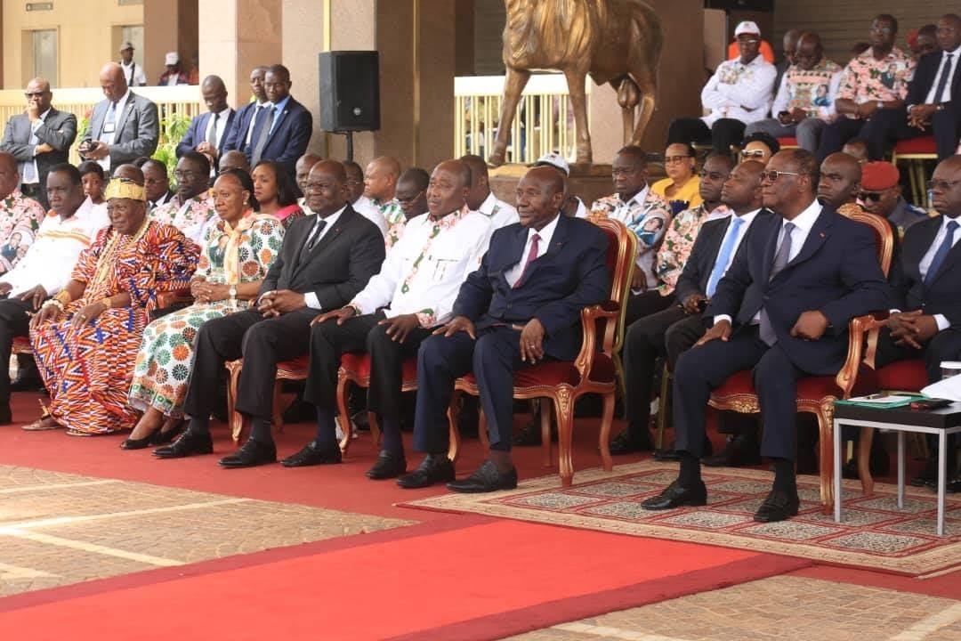 Transition politique,Alassane Ouattara
