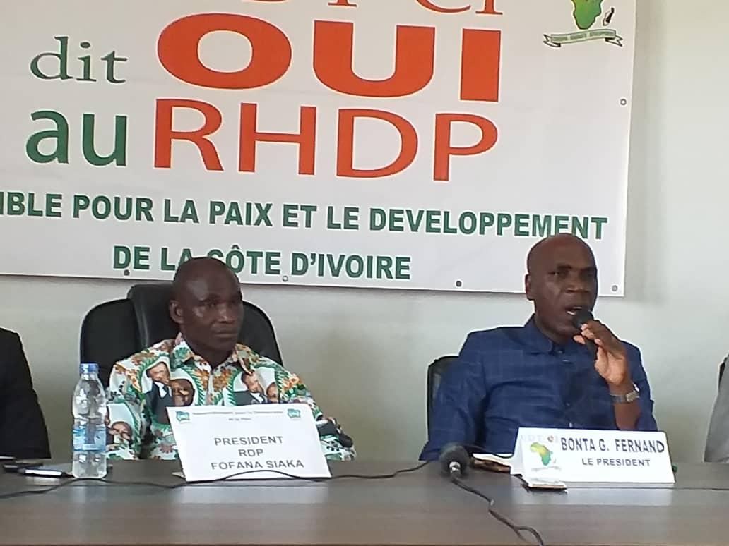 Alassane Ouattara,Rhdp