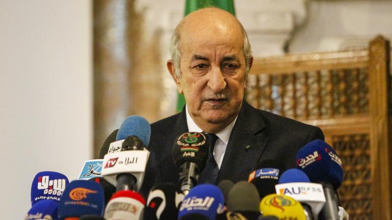 Élections présidentiellesur en Algérie,Abdelmadjid Tebboune