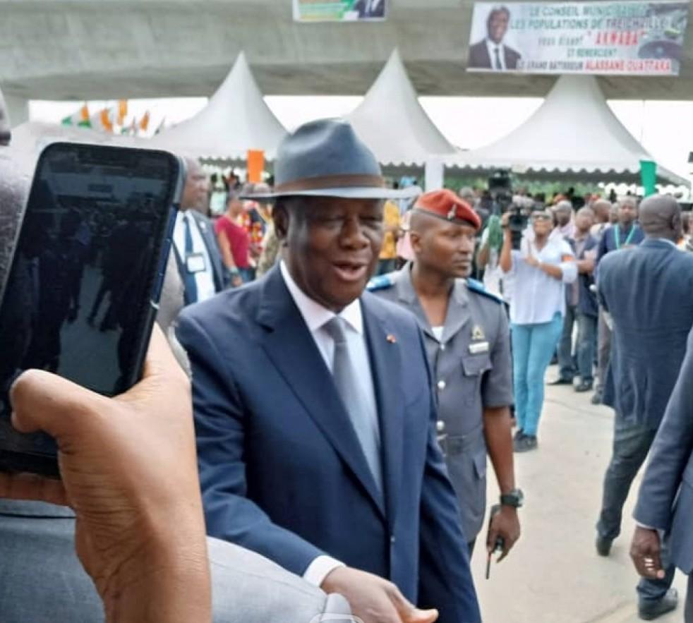 Alassane Ouattara,échangeur amitié ivoiro-japonais,inauguration