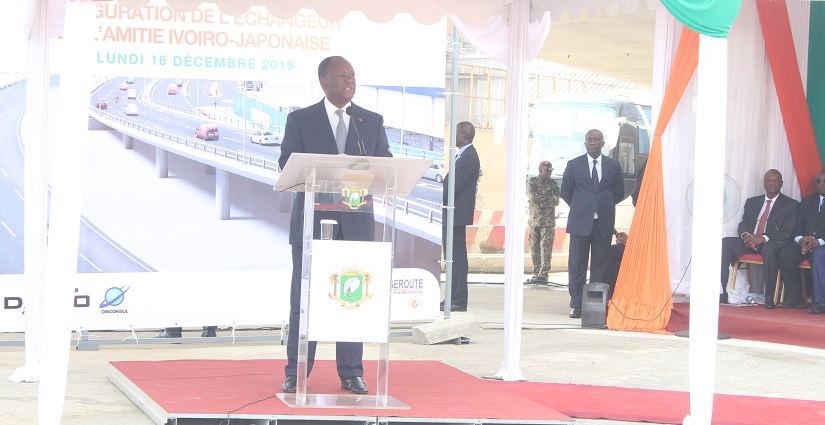 Alassane Ouattara,Route,Amédée Kouakou