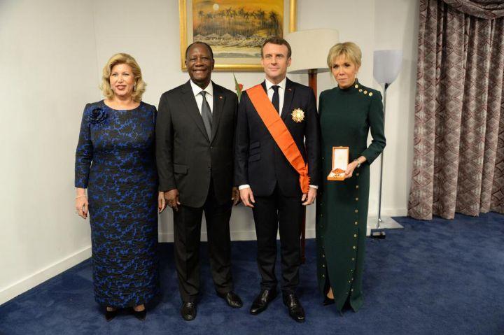 Emmanuel Macron,Alassane Ouattara,France,Côte d'Ivoire