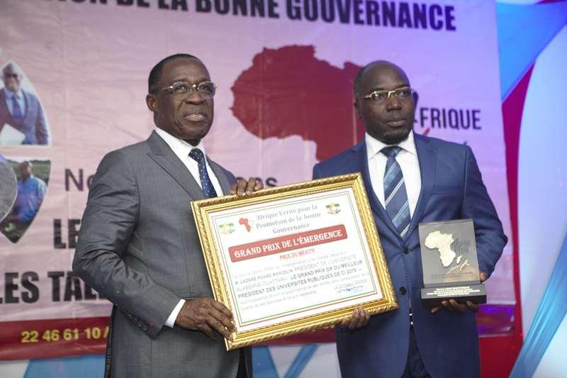 Côte d'Ivoire,  excellence, professeur  Lazare Poamé, Université Alassane Ouattara,