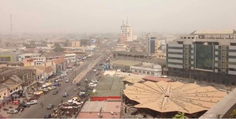 Harmettan,vent sec,Côte d'Ivoire,maladies