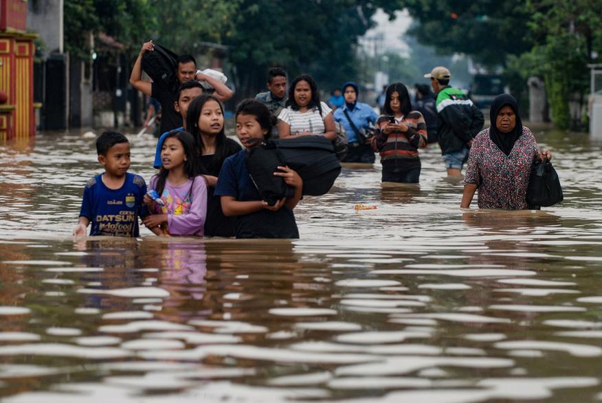 Indonesie,Inondations