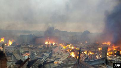 Incendie,Bouaké
