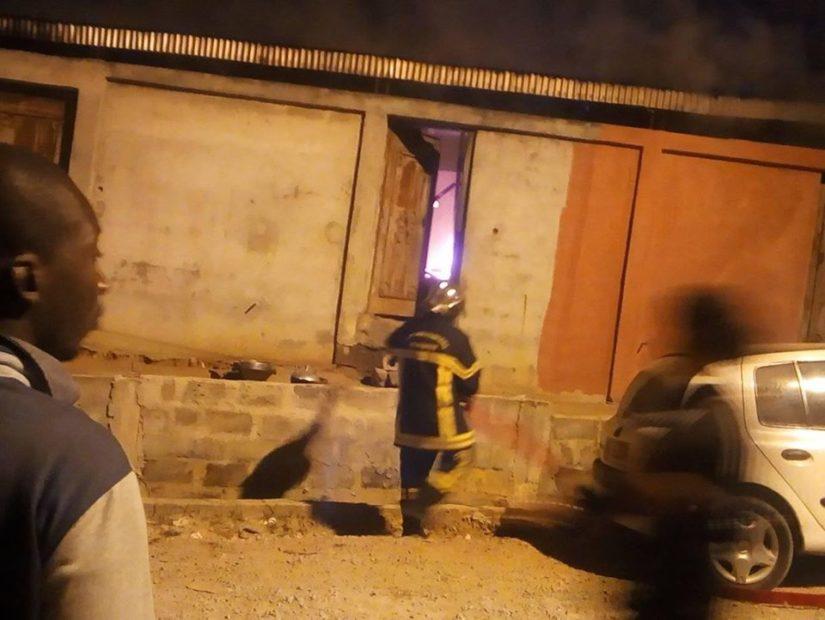 incendie à Yopougon,academie des mer
