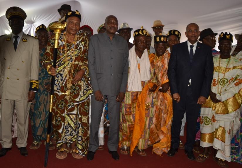 Visite dans le Gôh,Amadou Gon Coulibaly,Oumé