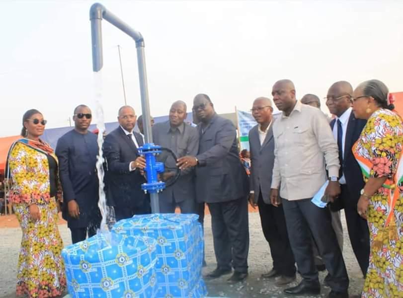 Ministere de l'hydraulique, eau potable, Oumé,