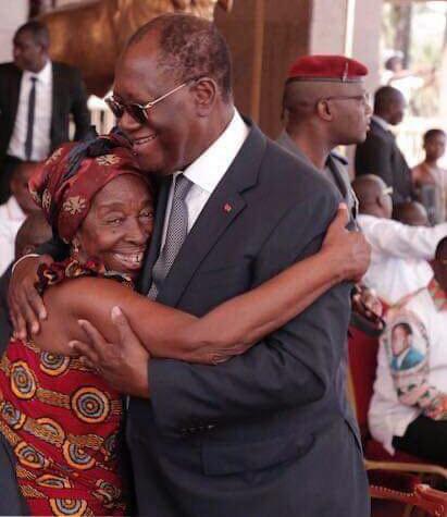 Alassane Ouattara,Allah Thérèse