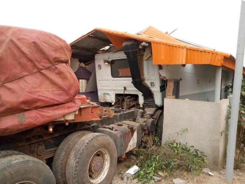 Aboisso,Ahigbékoffikro,Accident,Camion