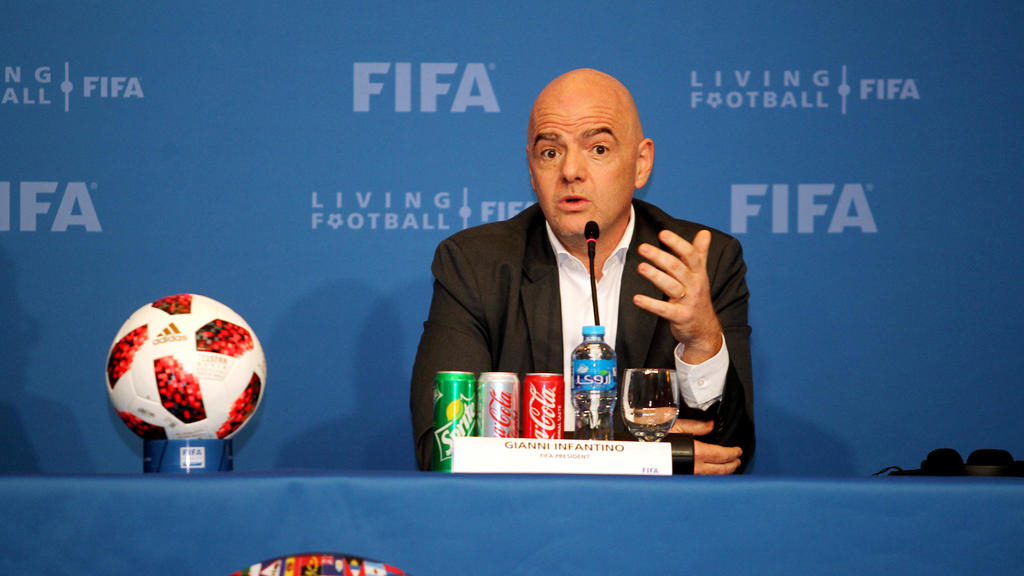 Football,Gianni Infantino,Fifa,Can,Caf