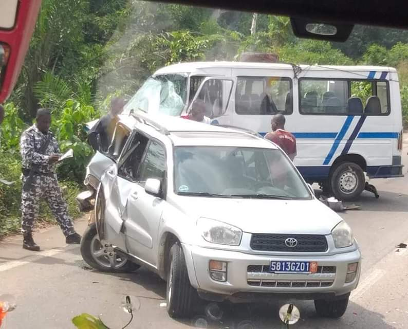 Accident, Adzopé-Abidjan,