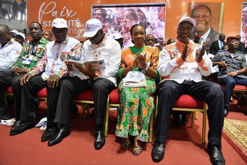 Henriette Dagri Diabaté,Présentation de voeux du RHDP,Alassane Ouattara