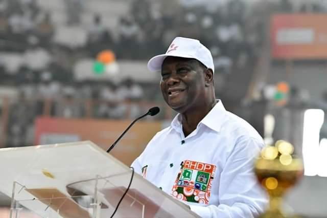 Présentation de voeux du RHDP,Alassane Ouattara,Présidentielles 2020