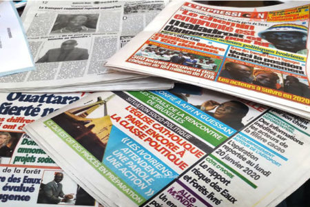 Revue de presse,Laurent Gbagbo,Alassane Ouattara