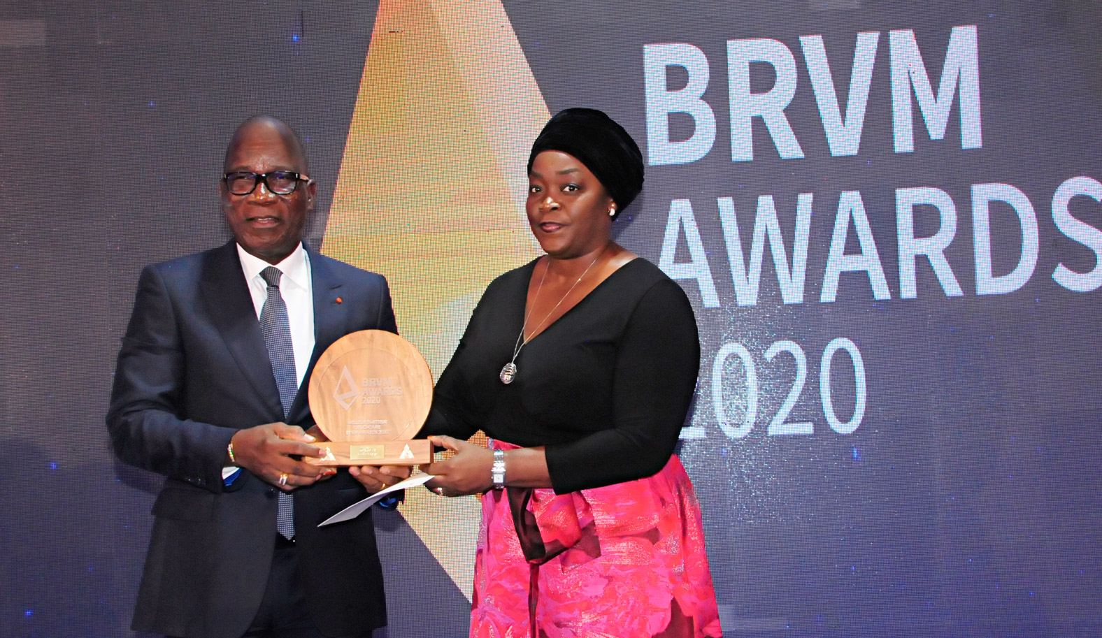 Trésor public de la Côte d'Ivoire,meilleur émetteur obligataire,marché des capitaux,BRVM,Awards