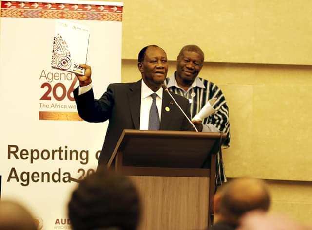 Agenda 2063,Union africaine,Rapport,Alassane Ouattara