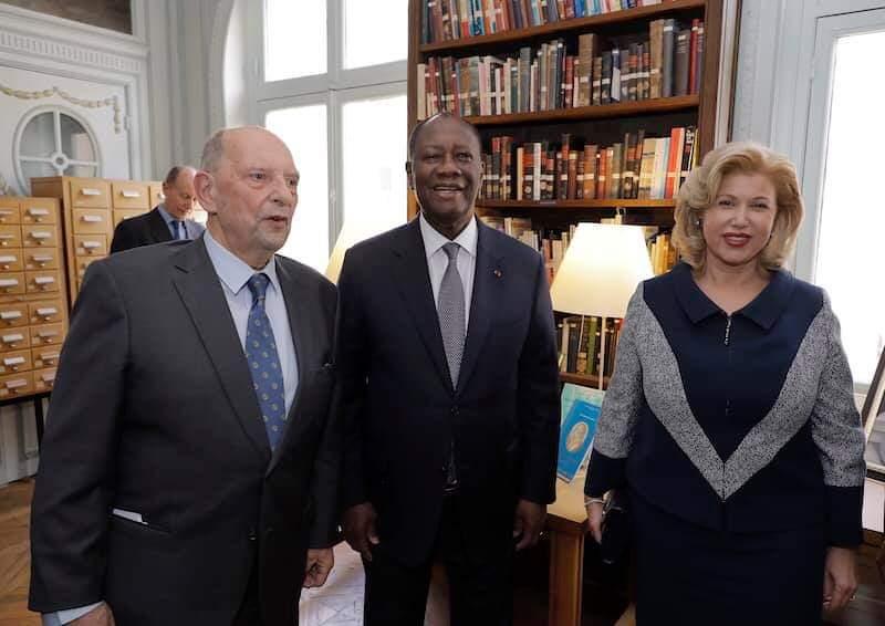 Présidence de la République,Alassane Ouattara,Bibliothèque
