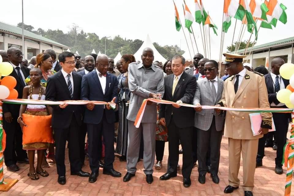 Gon dans le Gboklè,inauguration débarcadère de sassandra