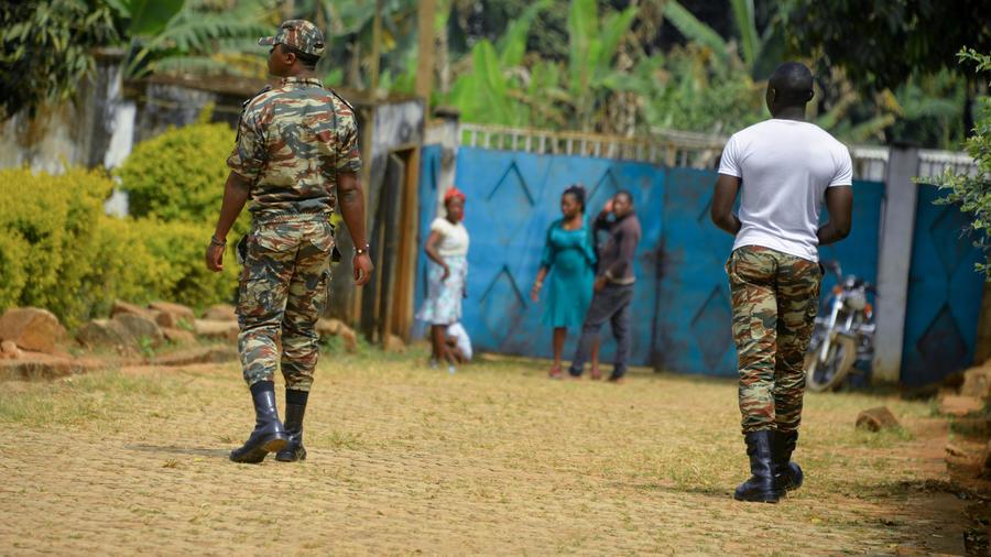 Cameroun,22 personnes tuées,14 enfants,nord-ouest anglophone