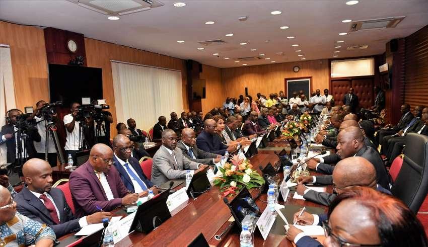 Amadou Gon Coulibaly,Dialogue politique