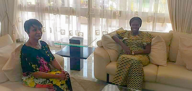 Situation socio-politique,Simone Gbagbo,Laurent Gbagbo,Henriette Konan Bédié,Henri Konan Bédié,visite