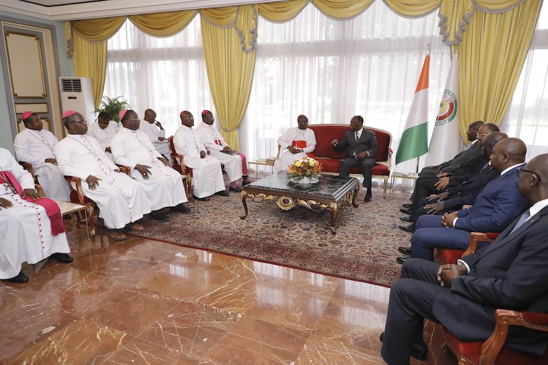 Évêques,Alassane Ouattara,paix,réconciliation