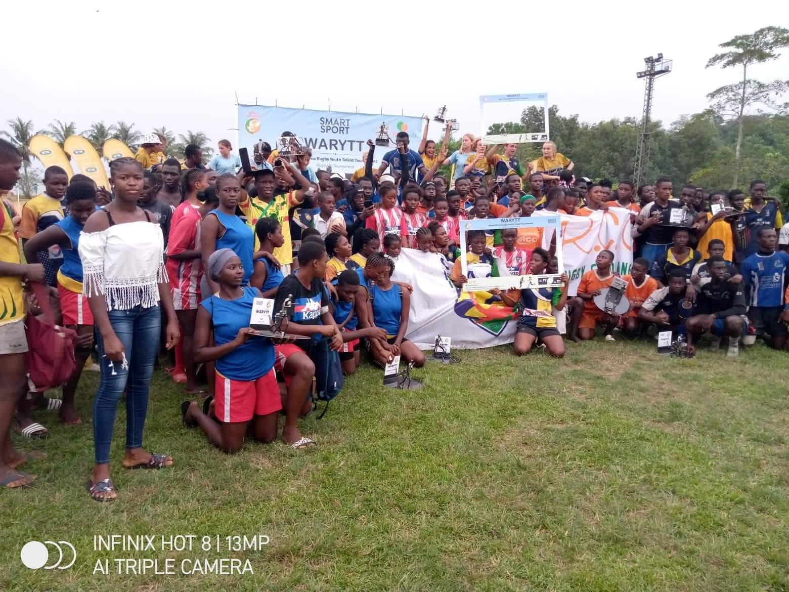 Rugby,Waritt,Ivoire Académie