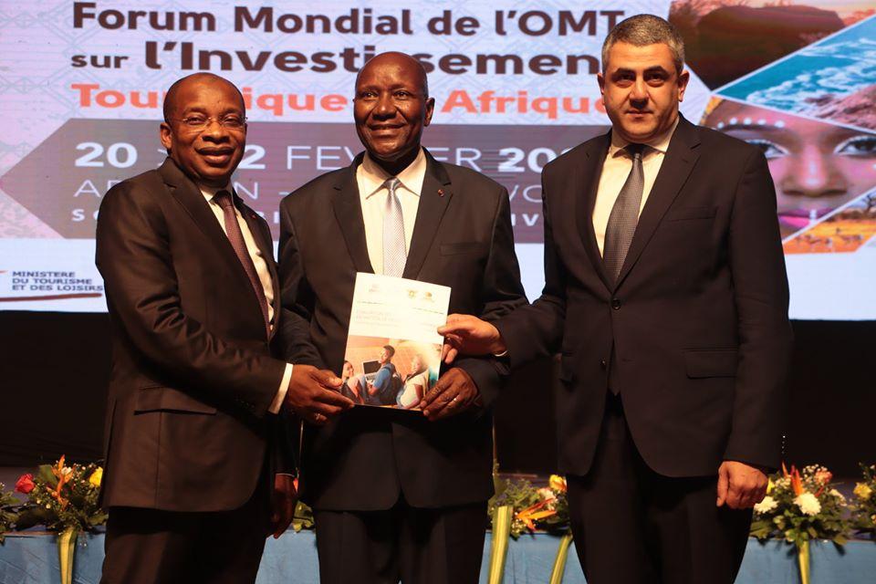 Côte d'Ivoire,Forum mondial de l'OMT sur l'investissement touristique,Daniel Kablan Duncan