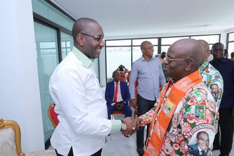 terrain politique,Souleymane Diarrassouba,UE-RHDP,Yamoussoukro,Alassane Ouattara
