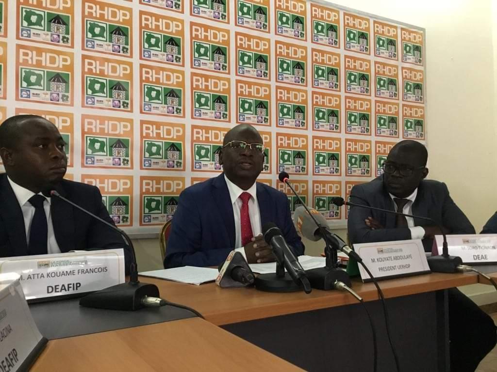 régime Ouattara,UE-RHDP,enseignants houphouetistes,Alassane Ouattara