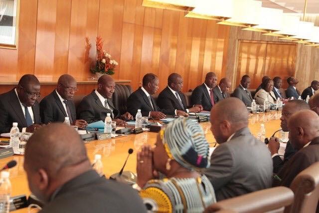 Conseils des ministres,Alassane OUATTARA,Sidi Tiémoko TOURE