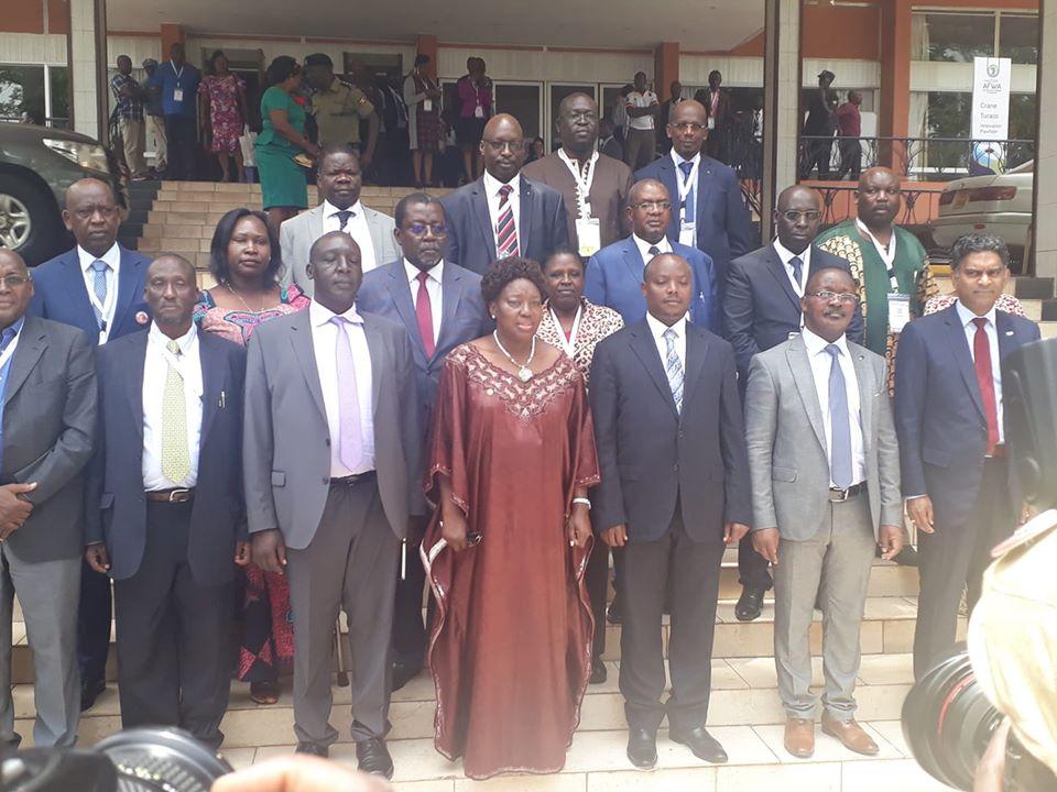20e congrès de l'Association africaine de l'eau,Kampala 2020