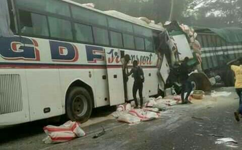 Accident à Bongouanou