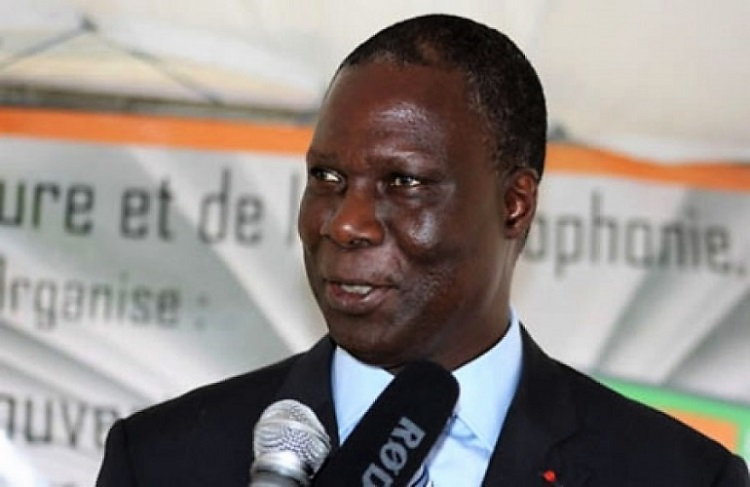Maurice Bandama,ambassadeur de Côte d'Ivoire en France
