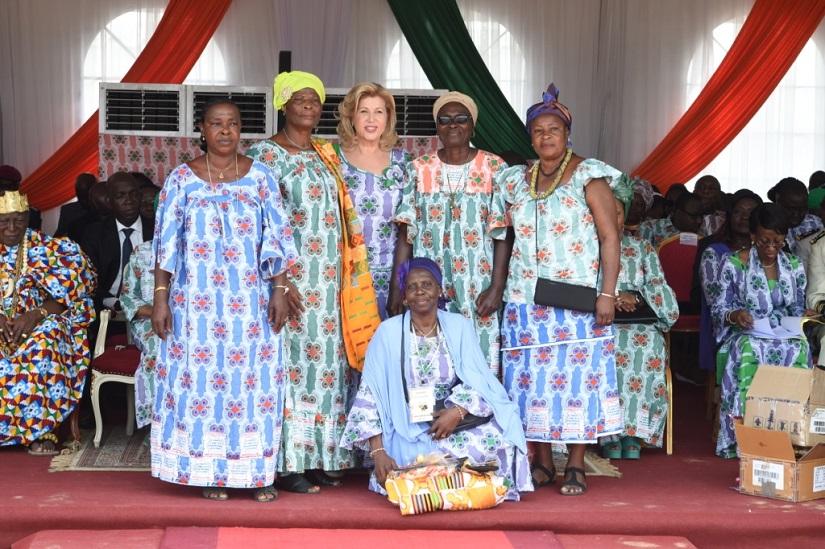 Journée de la femme,Dominique Ouattara