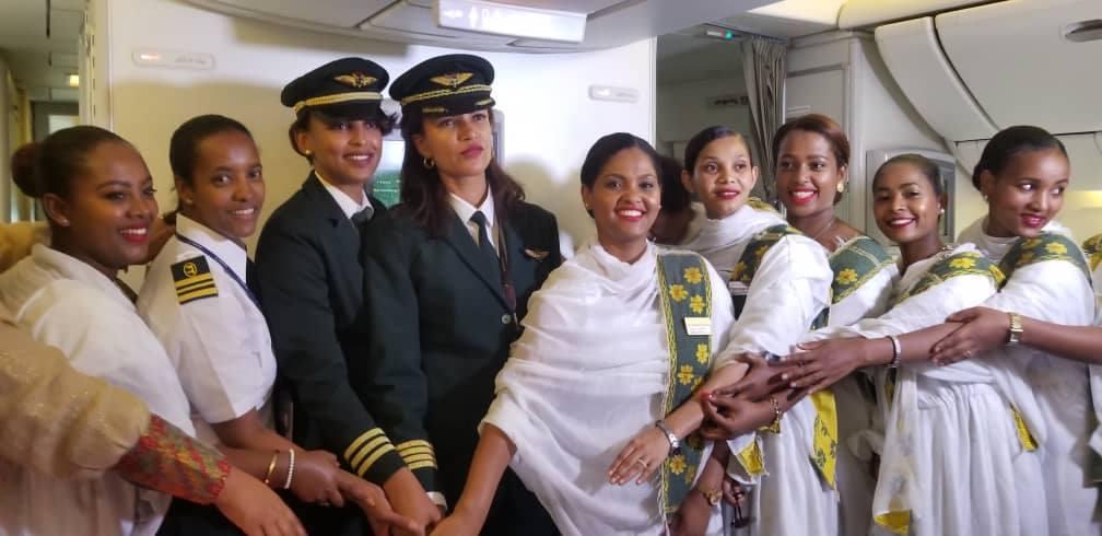 Aviation,équipage féminin,Ethiopian