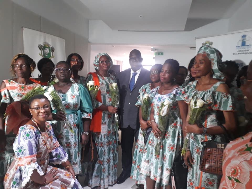 Droits de la femme,Journée internationale de la femme,Ministère de l'hydraulique,Laurent Tchagba