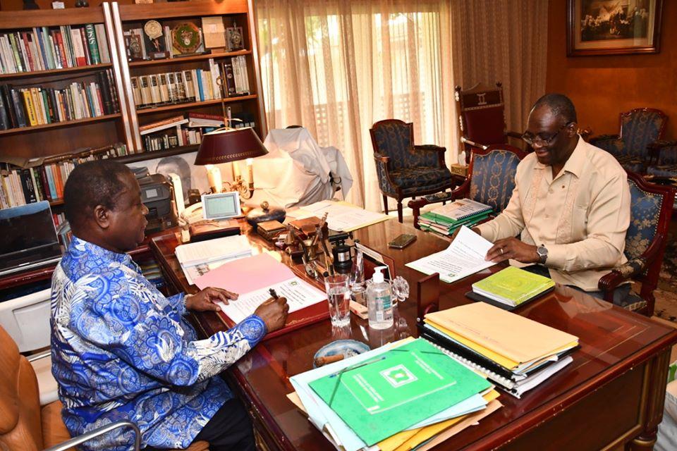 bureau politique,PDCI,Henri konan Bédié,report du bureau politique