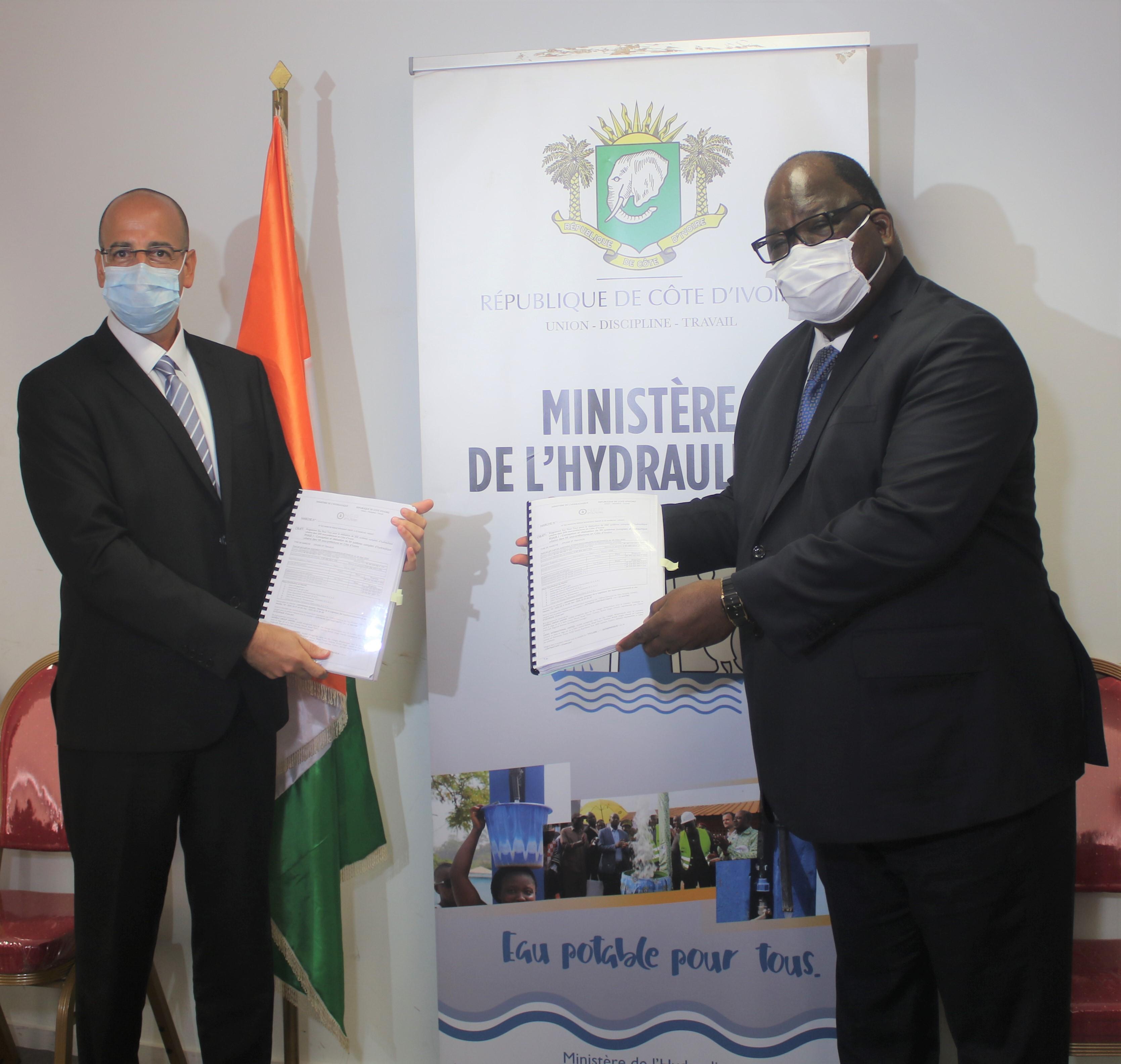 Ministère de l'hydraulique, Laurent Tchagba, systèmes d'hydraulique,