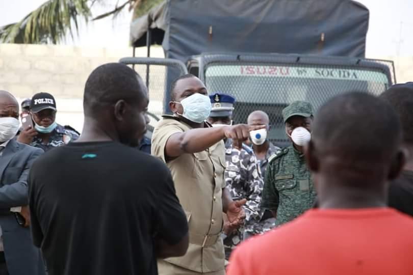 Coronavirus,Saccagé d'un centre,Yopougon,Préfet d'Abidjan
